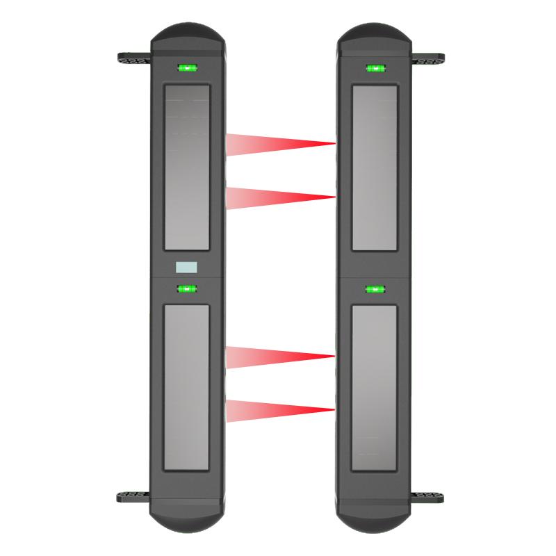 四光束太陽能對射式電子圍欄 HB-T001R4