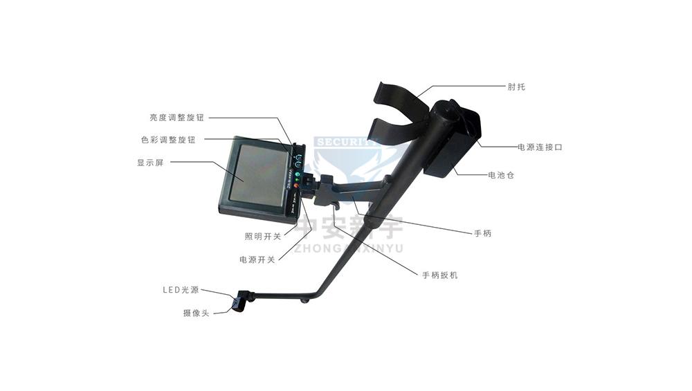 CDJ-SP2-ZX视频式车底检查镜