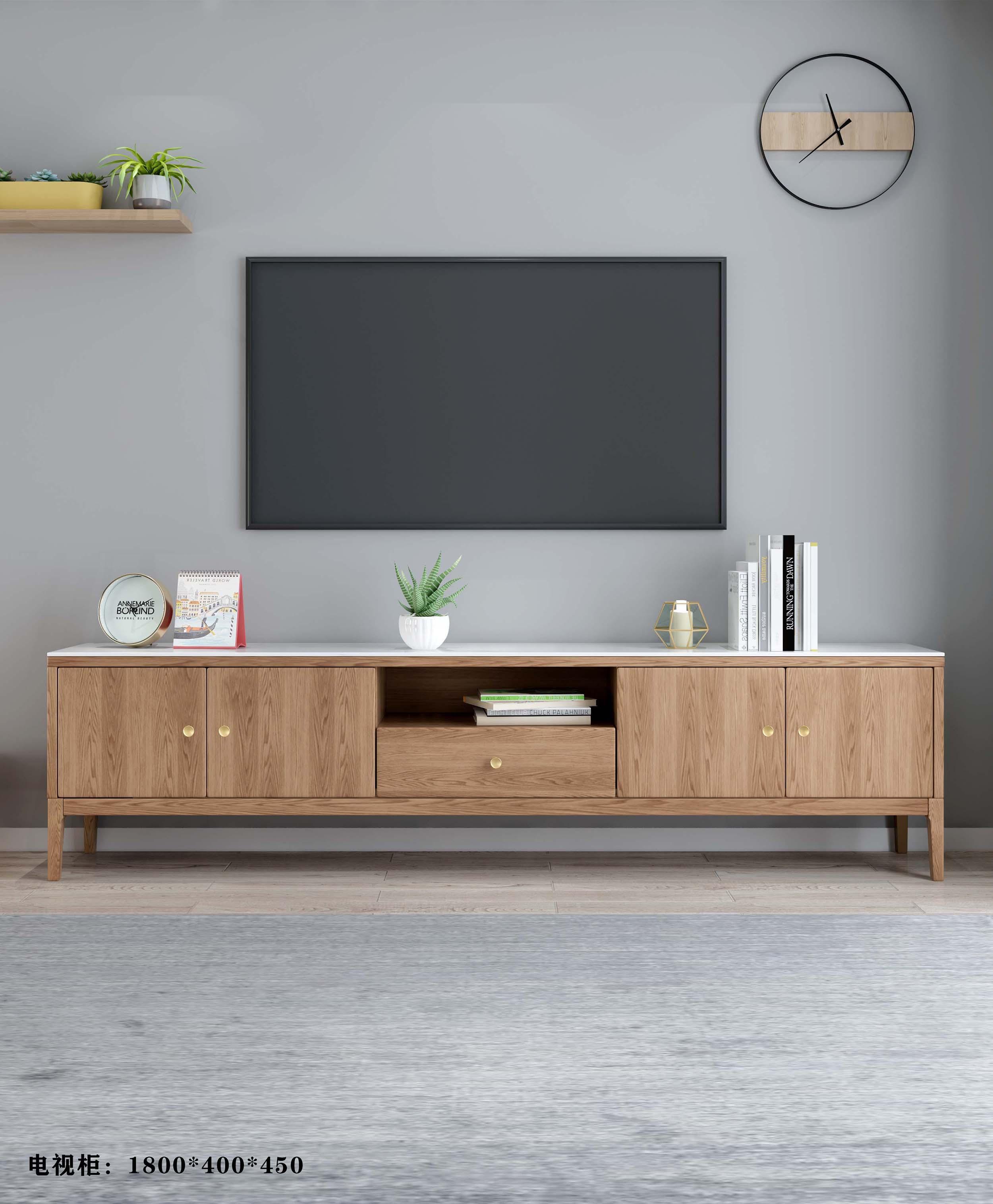 白蜡木诧寂系列---电视柜