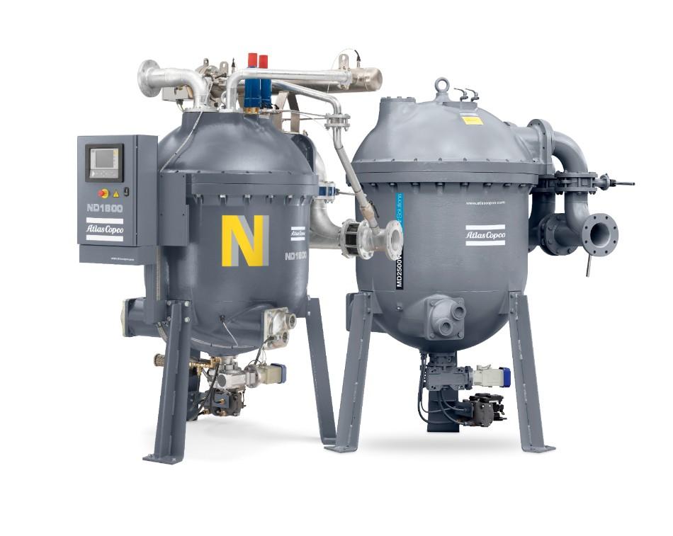 MD (ND)壓縮熱零氣耗轉鼓吸干機