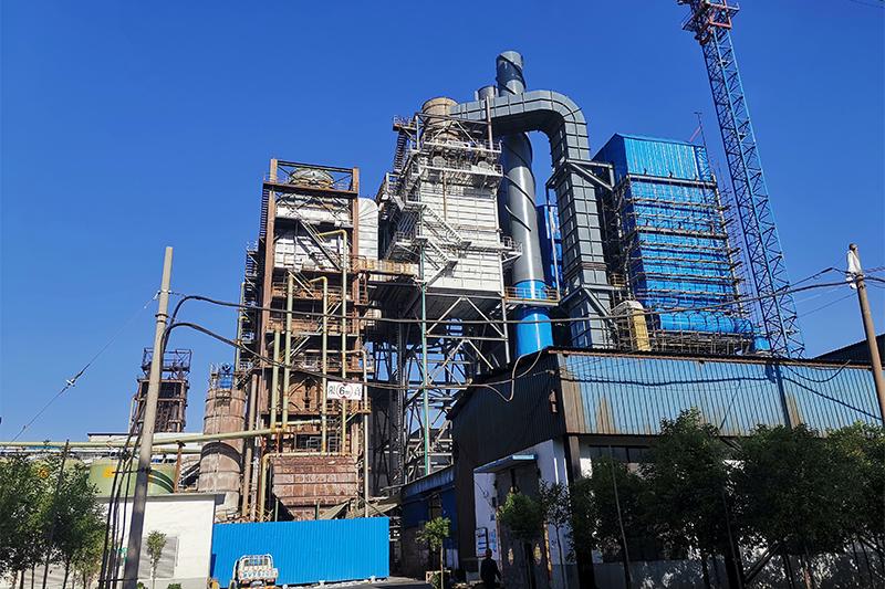安陽新普1鋼廠燒結煙氣SCR脫硝脫白系統