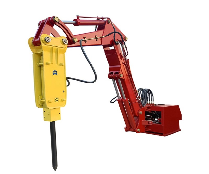 PC680-180礦用固定式液壓破碎機械臂