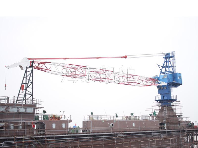 浮船坞用电动桁架臂起重机