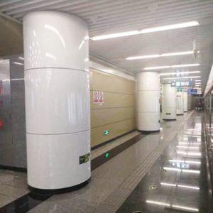 北京陶然亭地鐵站(內裝鋁板)