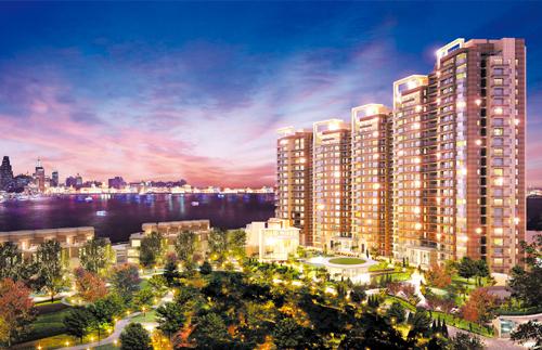 上海濱江凱旋門豪宅