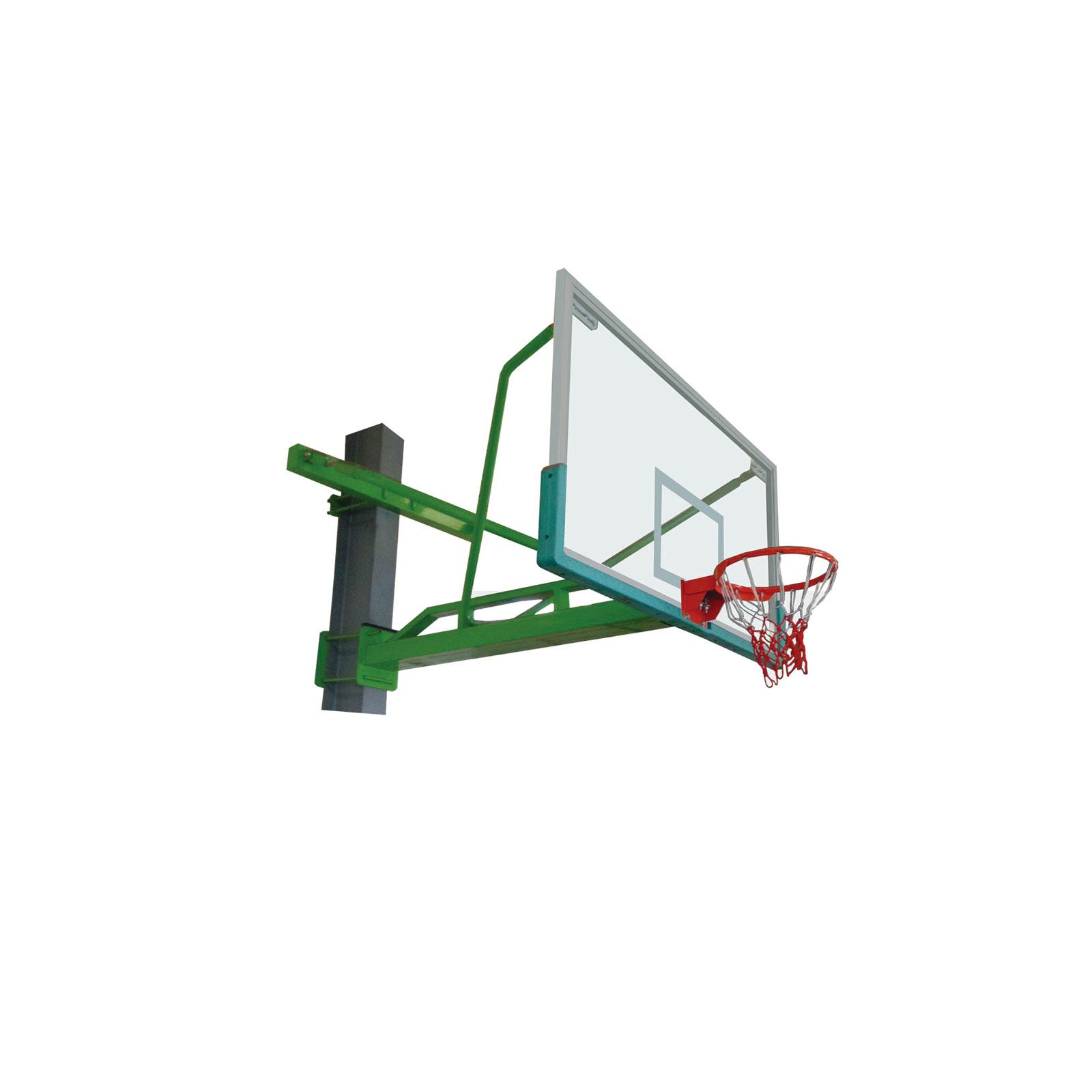 悬臂固定篮球架