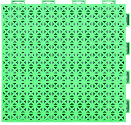 软珍珠米字纹一代悬浮式拼装地板