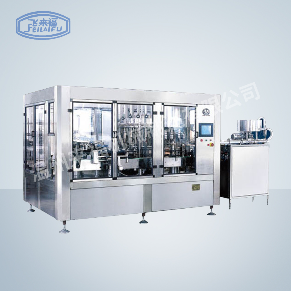 JR24-24-8 12000B/H沖瓶灌裝旋蓋三合一機組