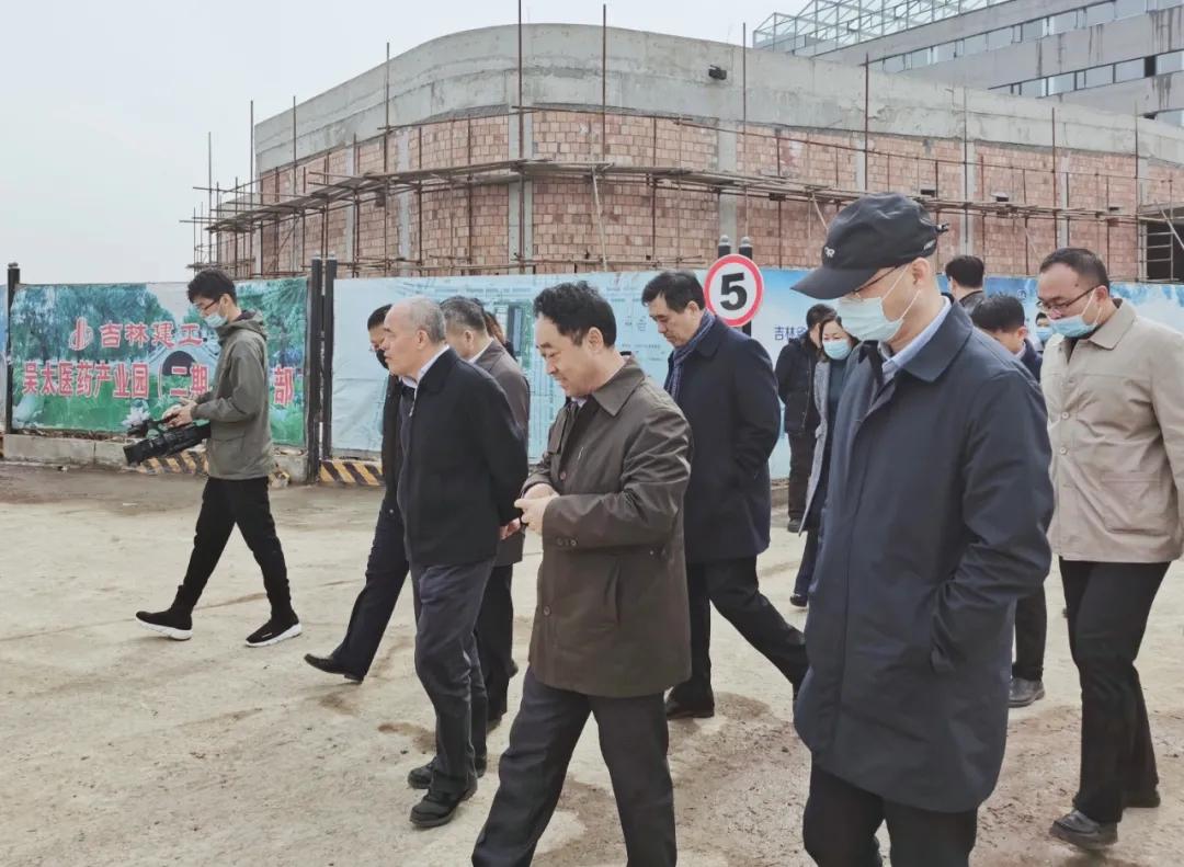 党工委书记何泉秀视察中国福彩app官方下载医药产业园