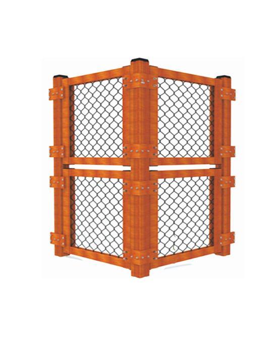 全铝合金框架内藏式拼装围网