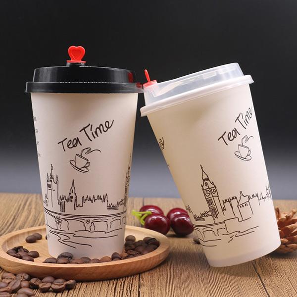 双层咖啡杯