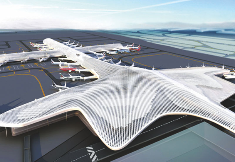 深圳機場T3機坪供油管道工程