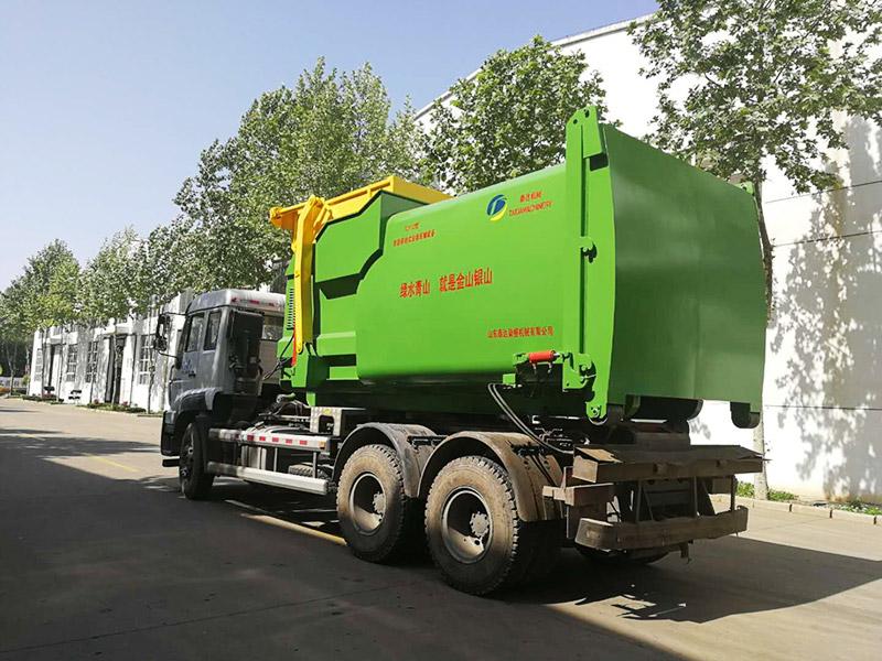 移動式垃圾壓縮設備是效率極高的垃圾處理設備