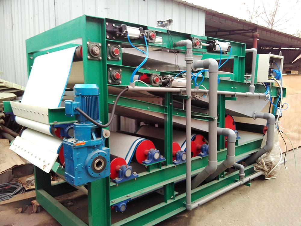 带式污泥压滤机项目现场