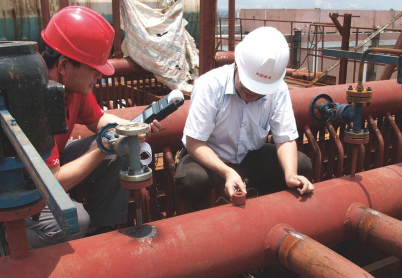 廣州白云新生印染廠3.82MPa鍋爐安裝項目