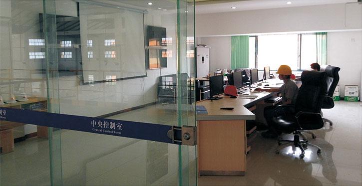 生產系統中央控制室