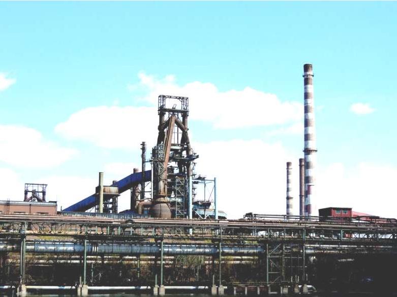 寧波鋼鐵公司廠房勘察