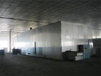双螺旋速冻隧道