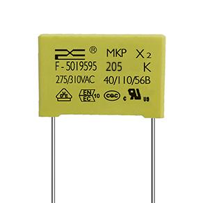 薄膜電容MKP(X2)金屬化聚丙烯膜抗干擾電容器 AC275V