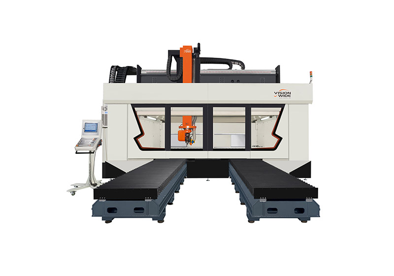 五軸復合材料切削數控機床