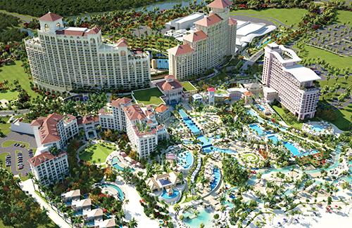 巴哈马大型海岛度假村
