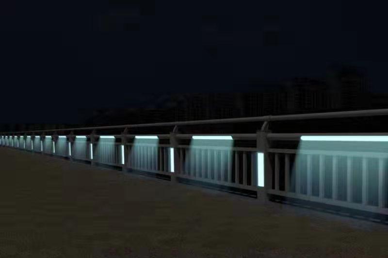 桥梁河道景观灯光隔离护栏