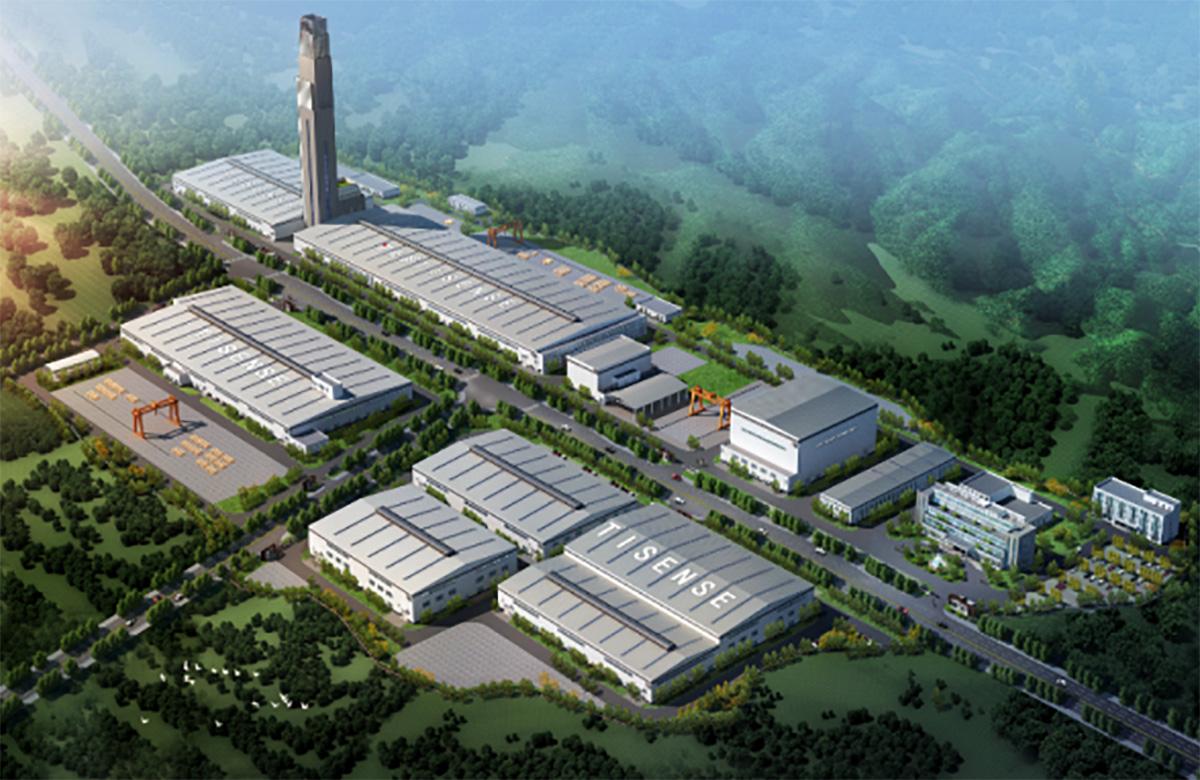 山东电工电气重庆泰山环保迁建项目二标段(在建)
