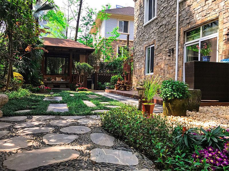 家庭小院景觀設計與施工