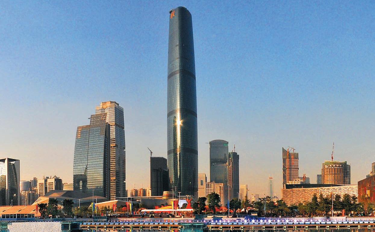 廣州西塔(廣州國際金融中心)