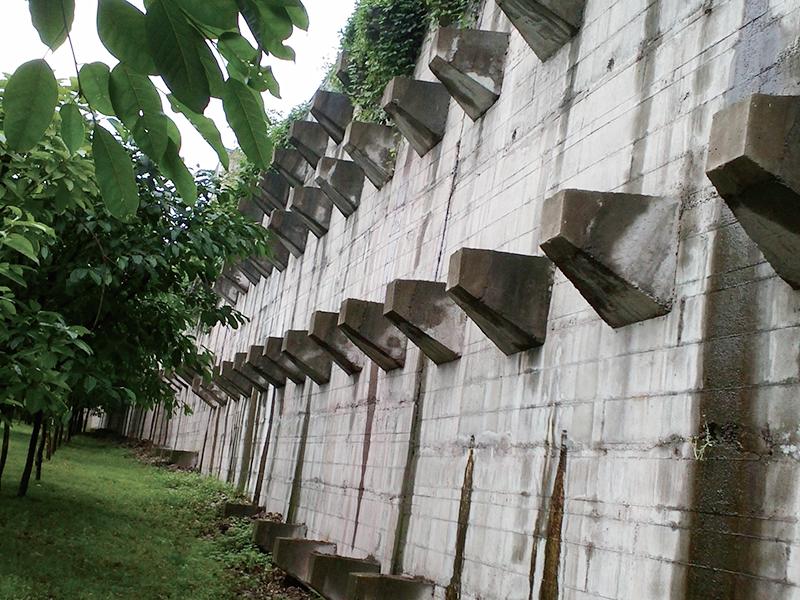 茶園江南小區七期邊坡支護工程