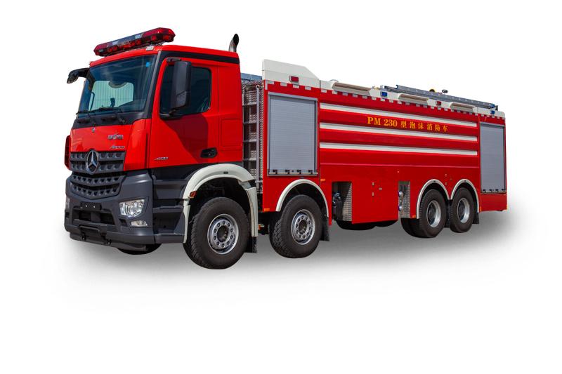 PM230重型水罐泡沫消防車