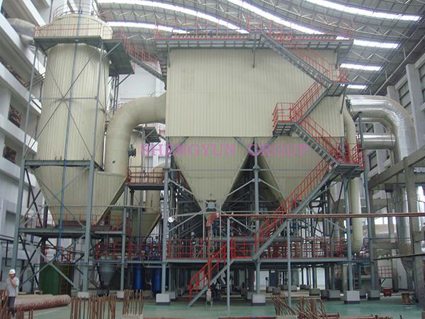 干法脱硫脱有害气体处理系统