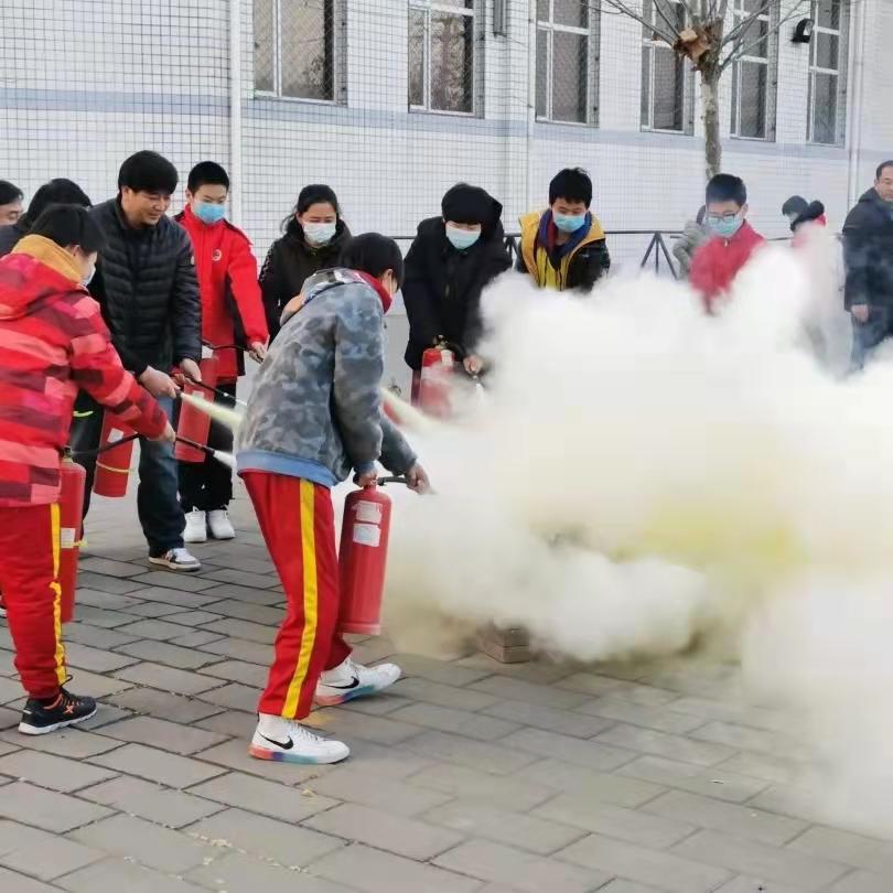 【消防演习】安全第一,生命至上——文武学校消防演习纪实