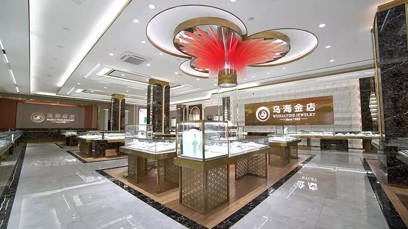 迪迪新作|熱烈祝賀烏海金店三樓鉆石珠寶城裝修升級