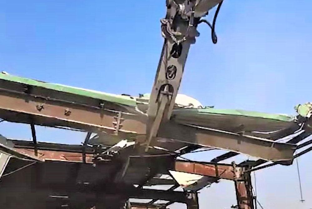 挖掘機配用鷹嘴剪如何正確選用