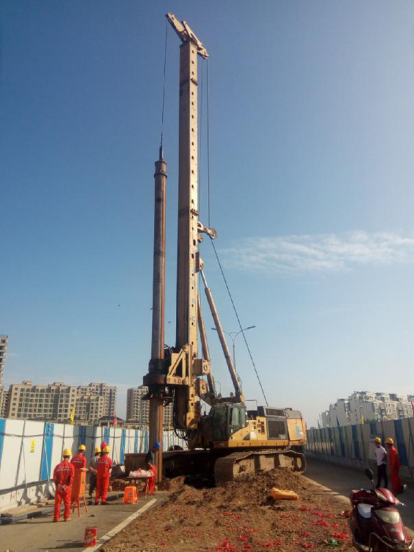 寧波環城南路西延三標段樁基工程