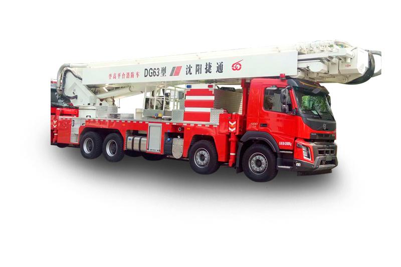 DG63型登高平臺救援消防車