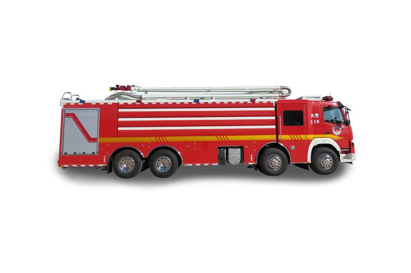 JP18型舉高噴射消防車(8X4)