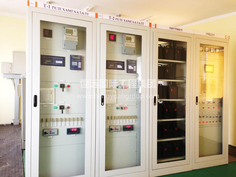 蒙古KHUKH TSAV 水泥廠 高低壓非標配電箱柜