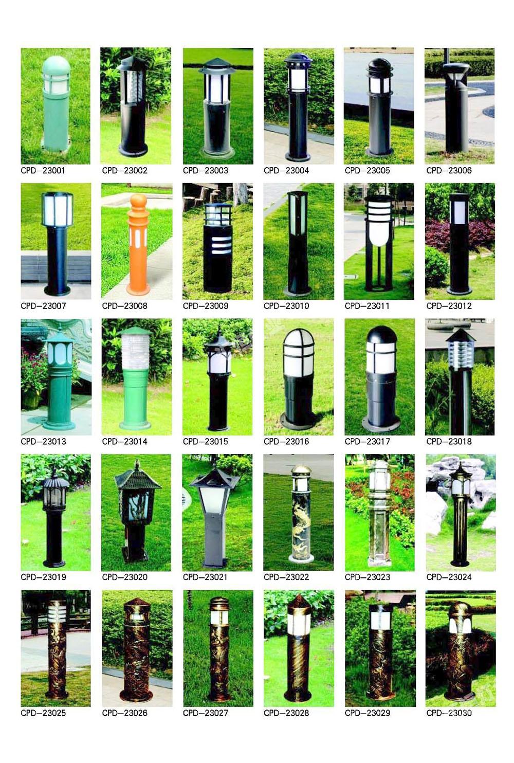 鋁拉伸草坪燈