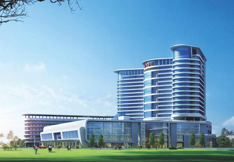 深圳海濱醫院鋼結構