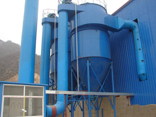 ZC型機械反吹扁袋除塵器