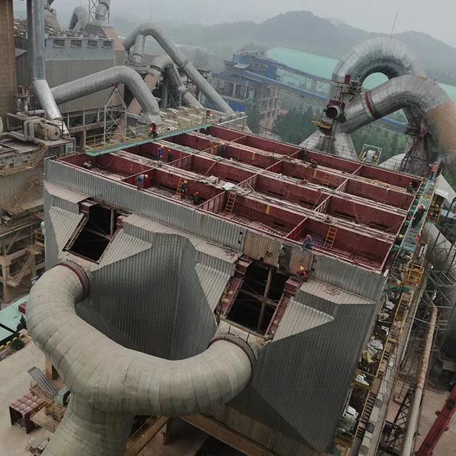 池州海螺電收塵器改造