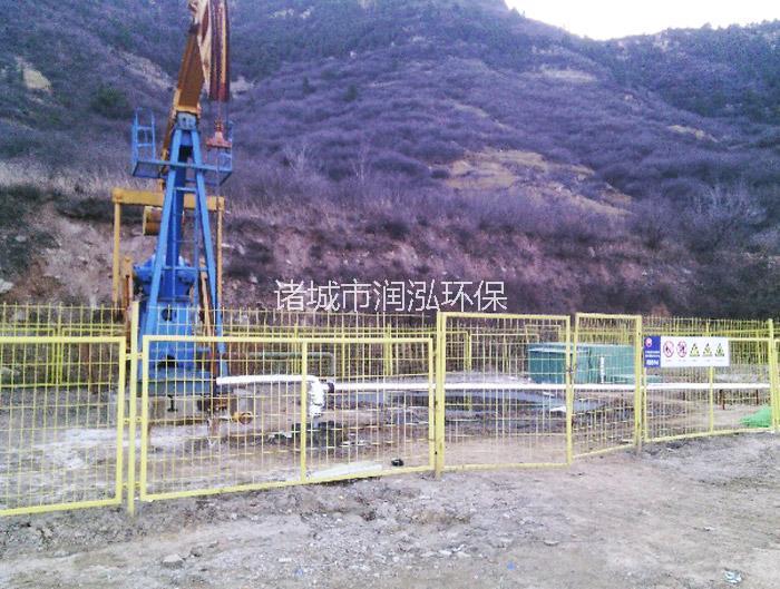 西安煤层气污水处理现场图
