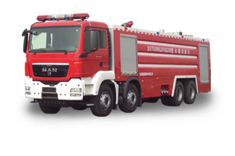 PM210重型水罐泡沫消防車