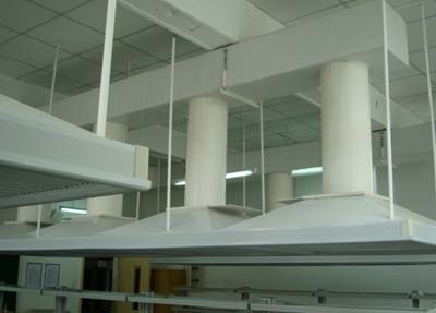 悬挂式排气罩
