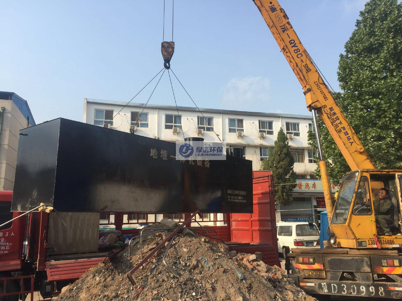 襄城中醫院醫療廢水處理項目
