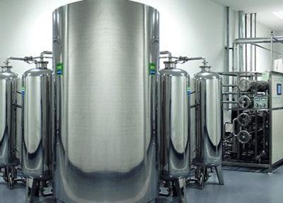 纯水系统工艺流程