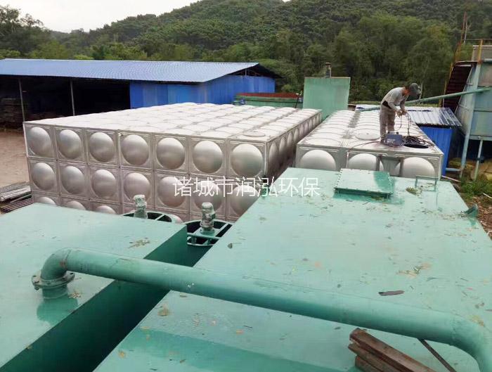 东莞一体化净水器设备现场