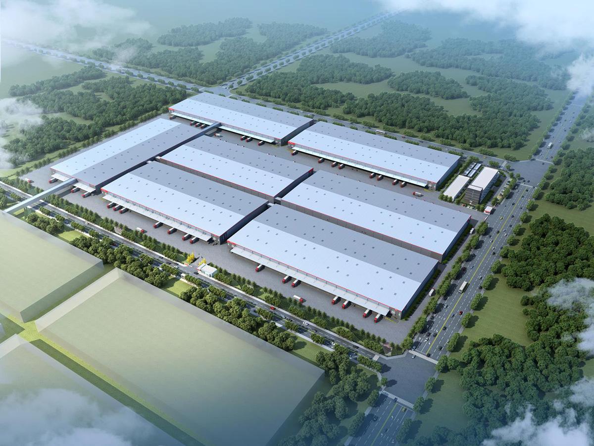 京东西南智能运营结算中心建设项目二期项目施工总承包工程(在建)